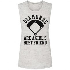 Diamonds Are A Girls Best Friend Trendy Shirt