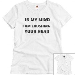 crushing head