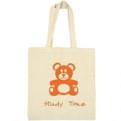 Cute Bear Library Bag