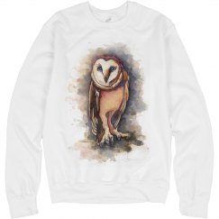 owl fashion sweater