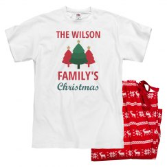 Custom Family Christmas Pajama Sets