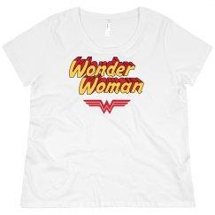 Wonder Woman Parody Plus Tee