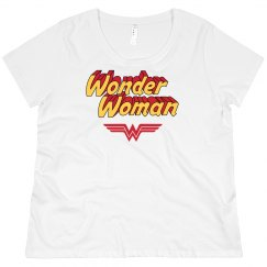 Wonder Woman Parody Plus Tee