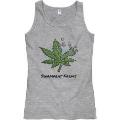 Swamprat Farms woman's tank tops