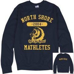 I'm A North Shore Lions Mathlete