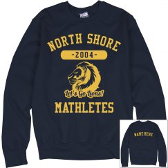 I'm A North Shore Lions Mathlete