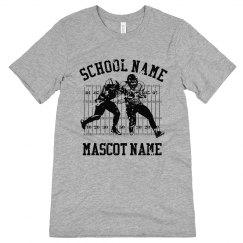 Custom School Football