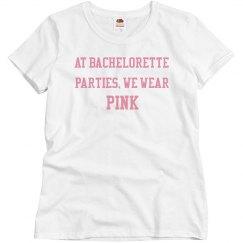 Bachelorette pink