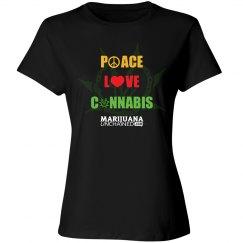 Peace Love Cannabis Munch T