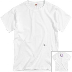 Men's I Thrive Cancer Fundraising Tee in LW