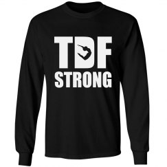 TDF Strong Unisex Long Sleeve (boy jumping)