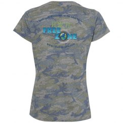 IFZ Ladies Relaxed Fit Camo Tee