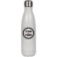 17OZ WHITE STAINLESS STEEL COLA SHAPED INSULATED WATER
