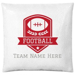 Custom Team Name Football Badge