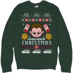The Eleven Days Of Xmas Sweater