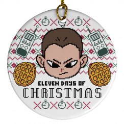 Eleven Days Of Xmas Ornament