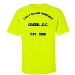 Unisex Ultra Cotton Safety Neon Crewneck Tee