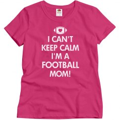 Keep Calm Football Mom