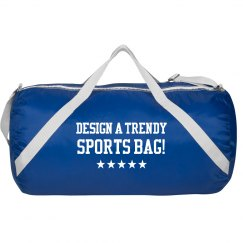 Custom Trendy Sports Duffel