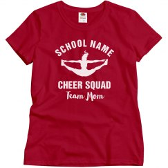 School Cheer Squad Mom