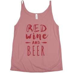 Festive Red Wine And Beer July 4th