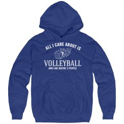 Care about is volleyball