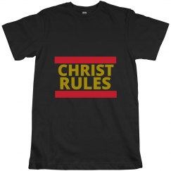 Christ Rules - Gold