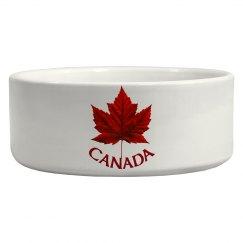 Canada Souvenir Pet Bowl Canada Maple Leaf Gifts