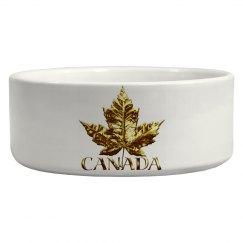 Canada Souvenir Pet Bowls Gold Medal Canada Gifts