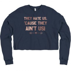 BFF Hate Us Sweatshirt