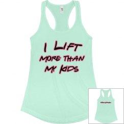 I Lift More than My Kids #TeamFitMom