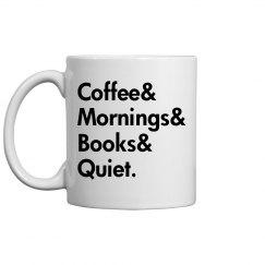 Quiet Morning Coffee