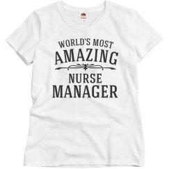 Amazing Nurse Manager