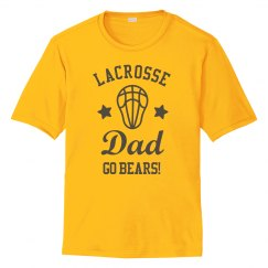 Customizable Star Lacrosse Dad