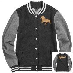 Central Lee stallions women's jacket.