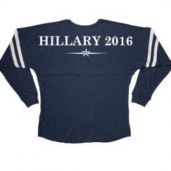 Hillary Clinton Billboard Jersey