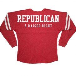 Republican Raised Right Jersey