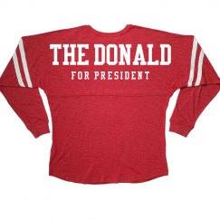 The Donald For President Jersey