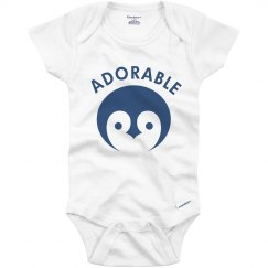 Adorable Penguin Baby