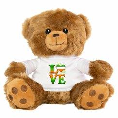 Love Ireland, Cute Teddy Bear