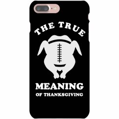 True Meaning Football Thanksgiving
