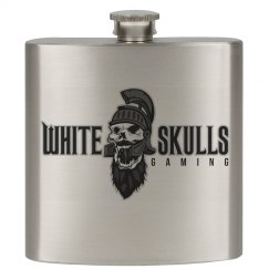 White Skulls Gaming Basic Flask