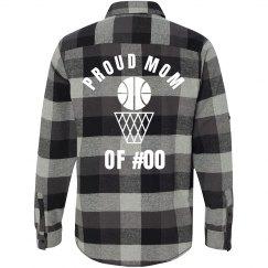 Trendy Proud Basketball Mom