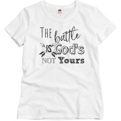 The battle is God's Not Yours