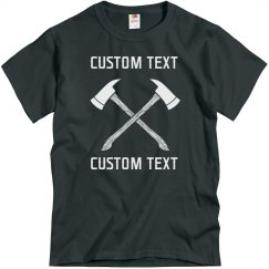 Create your Custom Axe Throwing Club Tee