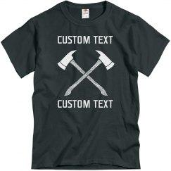 Create your Custom Axe Throwing Club Tee