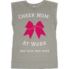 Cheer Mom at Work