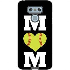Softball Mom Custom Phone Case