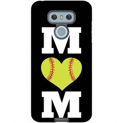 Softball Mom Custom Phone Case