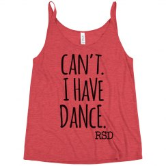 Can't I have dance tank